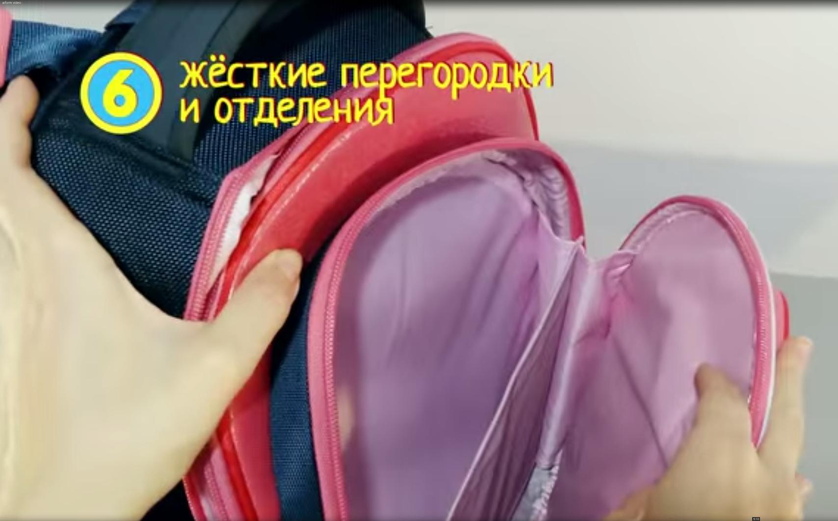 Школьный рюкзак Hummingbird TK49 Звезда футбола - официальный с мешком для обуви, - фото 6