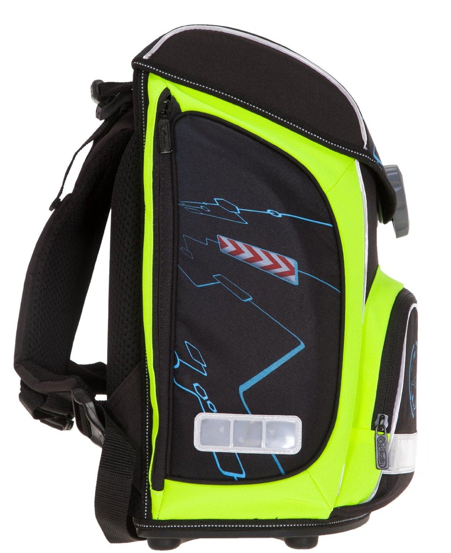 Школьный ранец Herlitz Sporti Plus Spaceshuttle с наполнением 4 предмета, - фото 3