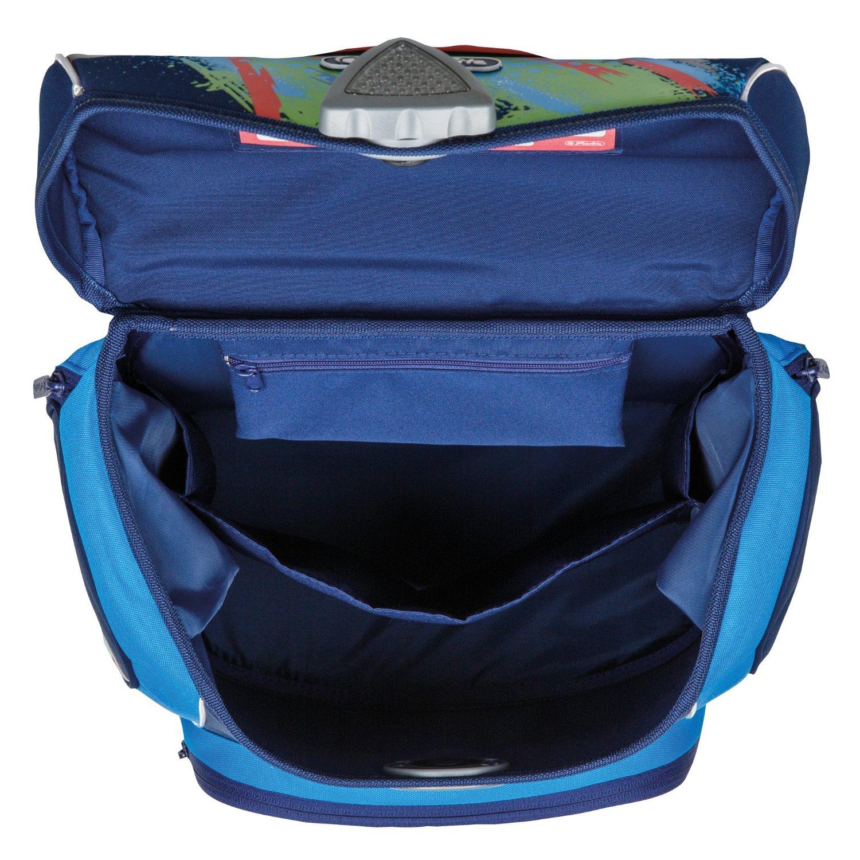 Школьный ранец Herlitz Sporti Plus Spaceshuttle с наполнением 4 предмета, - фото 8